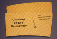 Java Jacket™ coffee sleeve